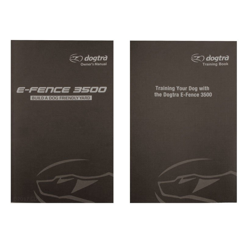 Dogtra E-Fence Training Book and Owner's Manual