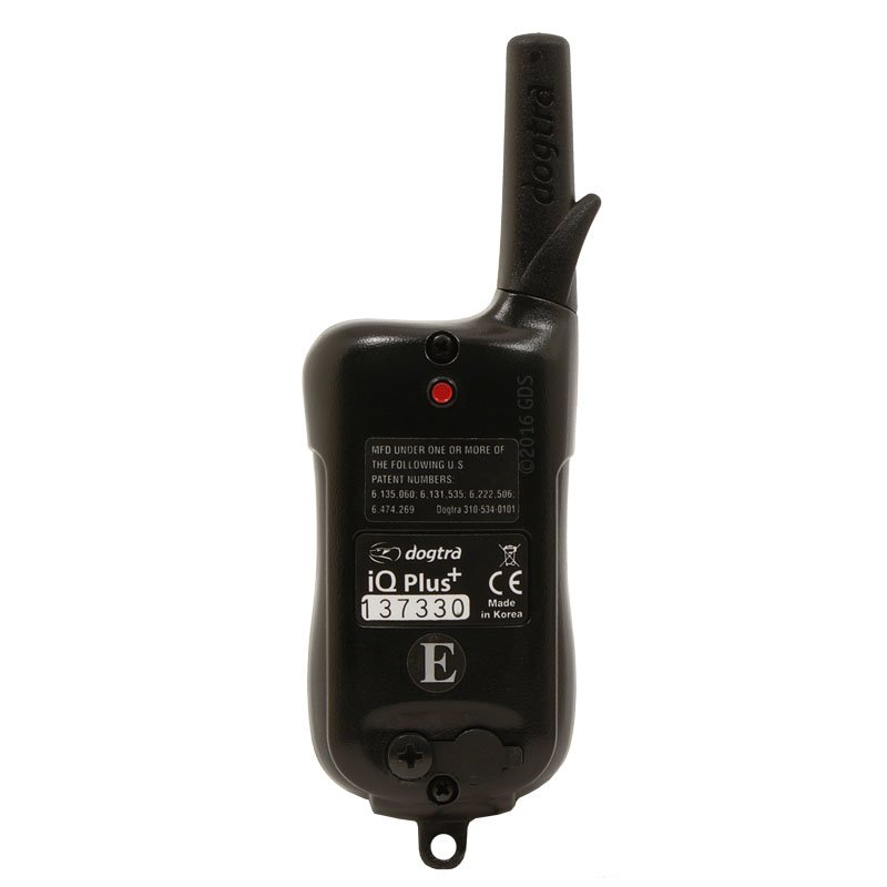 Dogtra iQ Plus Transmitter Back