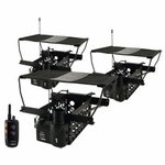 shop Dogtra Remote System w/ 3 Quail Launchers QLD-3