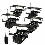 shop Dogtra Remote System w/ 5 Quail Launchers QLD-5
