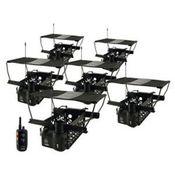 shop Dogtra Remote System w/ 6 Quail Launchers QLD-6