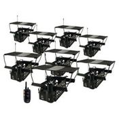 shop Dogtra Remote System w/ 8 Quail Launchers QLD-8