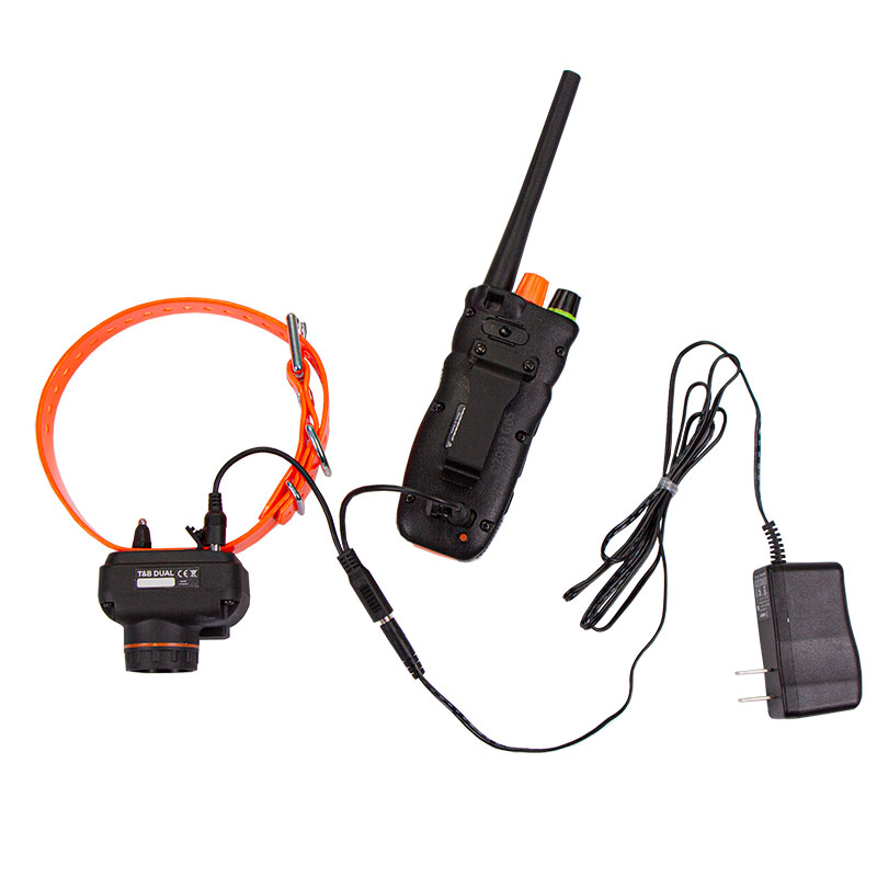 Dogtra T&B Dual Transmitter and Collar on Charger
