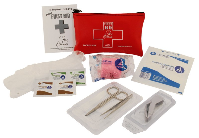 6e3ad5cf6fb Dokken Pocket Size Canine First Aid Kit.  29.95.