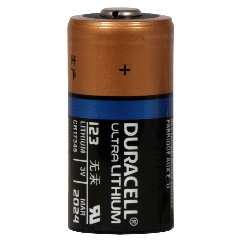 Duracell 123 3 Volt Lithium Replacement Battery 5 95