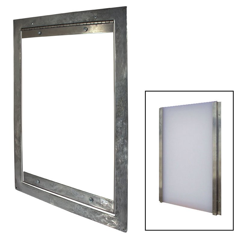 Easy Big Dog Door With Closure Panel 17800 Free Shipping Us48