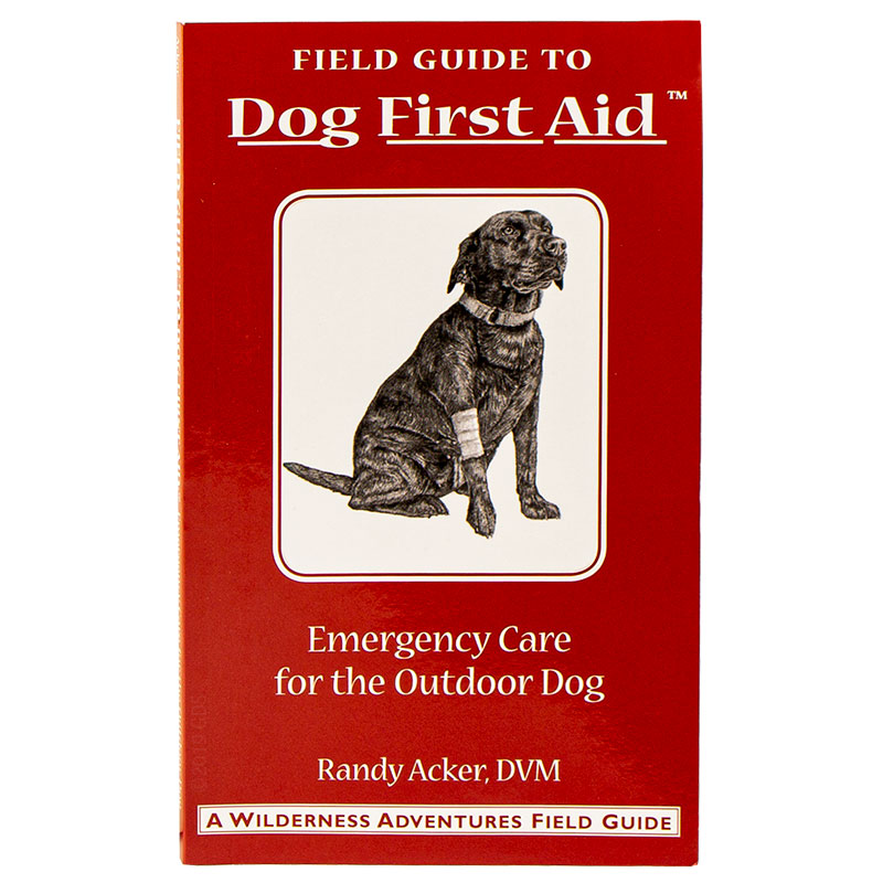 Canine first aid book