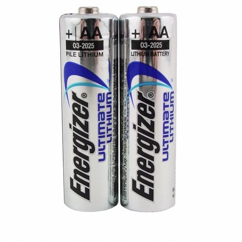 Energizer AA Ultimate Lithium Batteries 2-Pack