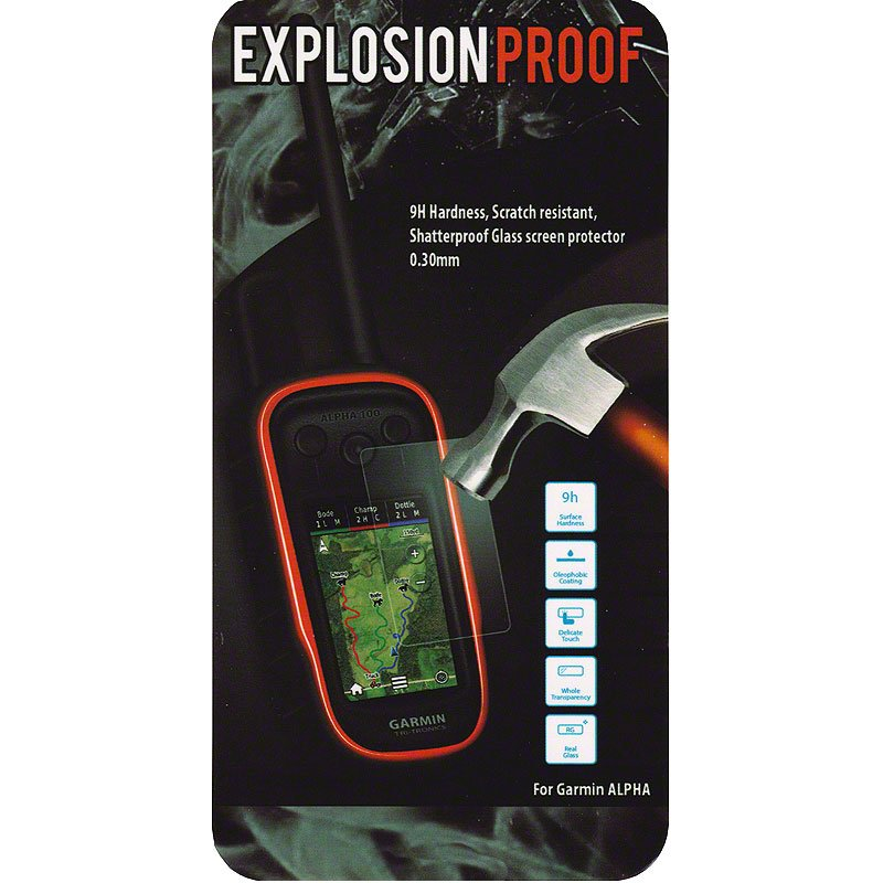Explosion Proof Protective Shield for Alpha -- Package Detail