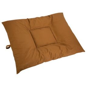 shop EXTRA LARGE Bizzy Beds® Dog Bed with Zipper -- Brown Canvas