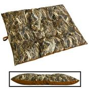 shop EXTRA LARGE Bizzy Beds® Dog Bed with Zipper -- True Timber DRT Camo / Brown Two-Tone