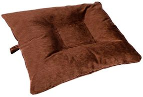 shop EXTRA LARGE Bizzy Beds™ Dog Bed with Zipper -- Brown