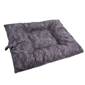 shop EXTRA LARGE Bizzy Beds® Dog Bed with Zipper -- Charcoal