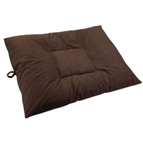 shop EXTRA LARGE Bizzy Beds® Dog Bed with Zipper -- Coffee