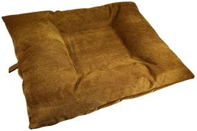 shop EXTRA LARGE Bizzy Beds™ Dog Bed with Zipper -- Timber