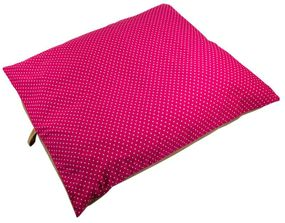 shop EXTRA LARGE Bizzy Beds™ Pillow Bed -- Pink Polka Dot