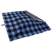 shop EXTRA LARGE Bizzy Beds® Replacement Cover -- Buffalo Blue / Gray Two-Tone