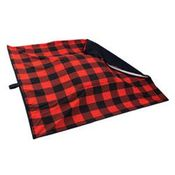 shop EXTRA LARGE Bizzy Beds® Replacement Cover -- Buffalo Red / Black Two-Tone
