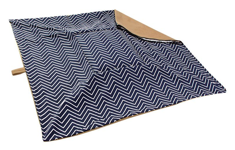 Extra Large Bizzy Beds 174 Replacement Cover Chevron Tan