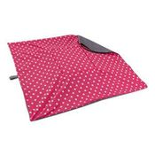 shop EXTRA LARGE Bizzy Beds® Replacement Cover -- Pink Polka Dot / Gray Two-Tone