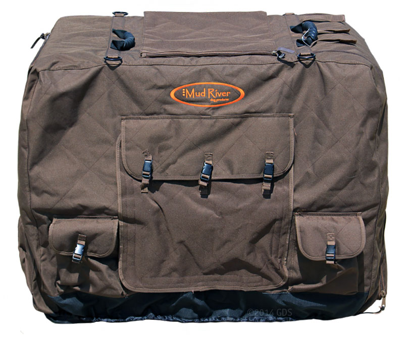 Onyx Insulated Kennel Cover w// Arctic Shield X-LRG Hunting Dog Cage Cover MUDDY