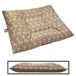 EXTRA LARGE Limited Edition Bizzy Beds® Dog Beds -- Giraffe / Olive Green Two-Tone