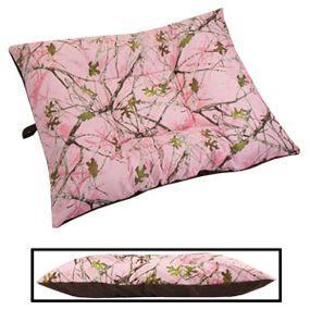 shop EXTRA LARGE Limited Edition Bizzy Beds® Dog Bed -- Pink Conceal Camo / Coffee Two-Tone
