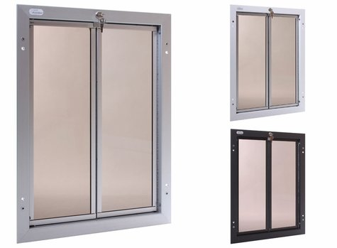 Extra Large Plexidor Door Mount Dog Door