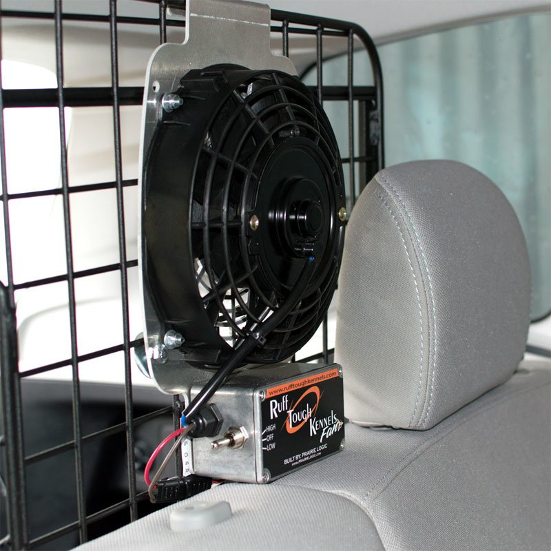 Fan Installation in SUV 1