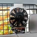 shop Fan Installation in SUV 2