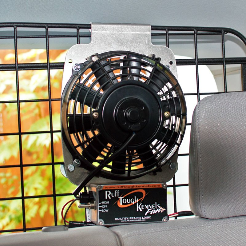 Fan Installation in SUV 2