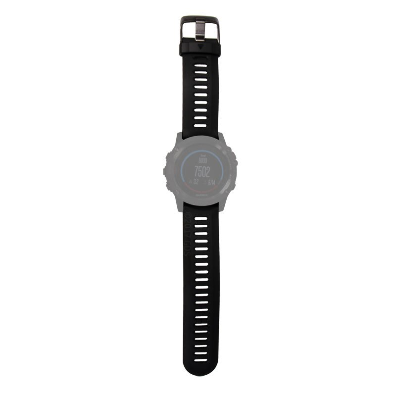 Watch Band Installed on the Fenix 3
