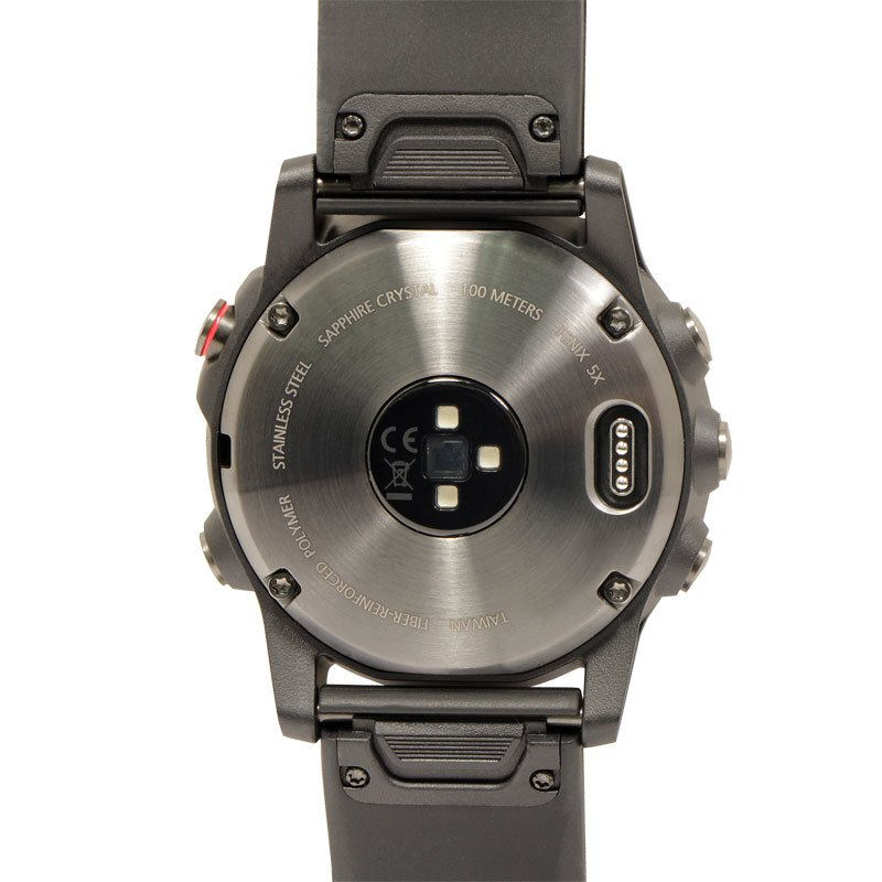 Fenix 5X Watch Back Plate