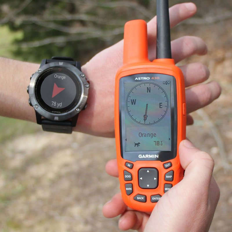 Fenix 5X Watch Screen w/ Astro - Orange