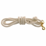 shop Firm Lay Nylon Check Cord -- White 7/16 in. x 10 ft.