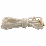 shop Firm Lay Nylon Check Cord -- White 7/16 in. x 40 ft.