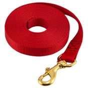 shop Flat Nylon Check Cord 1 in. Red