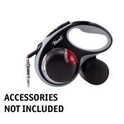 shop Flexi Small Comfort Tape Leash with Multibox and Light
