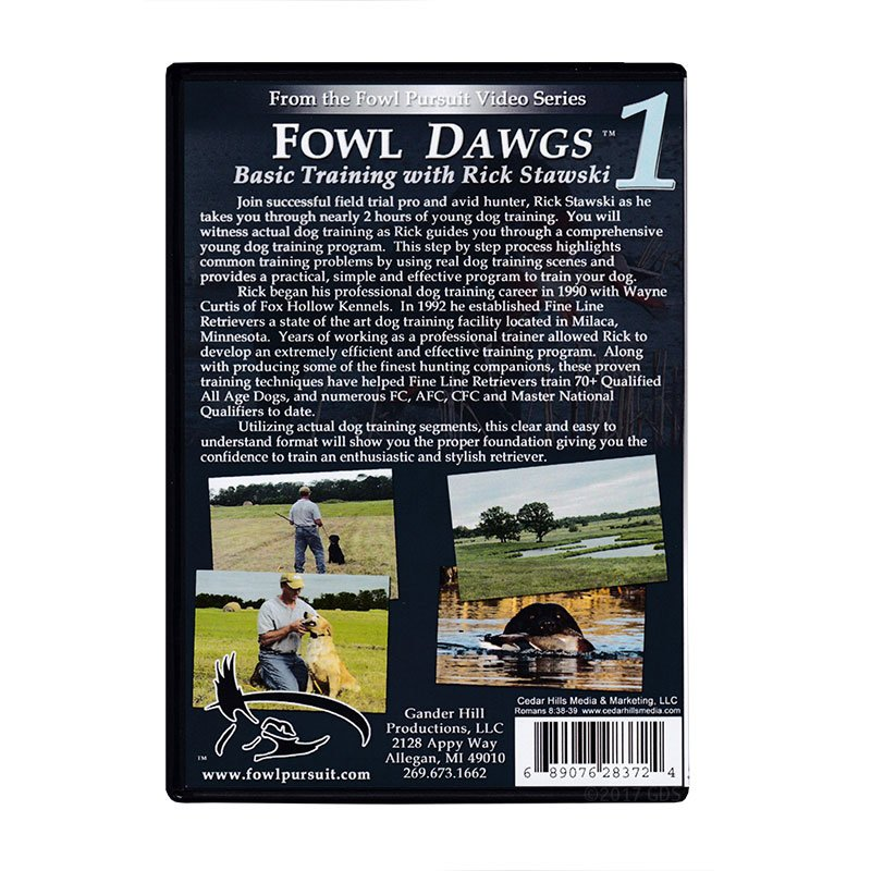 Fowl Dawgs Vol. 1 DVD back