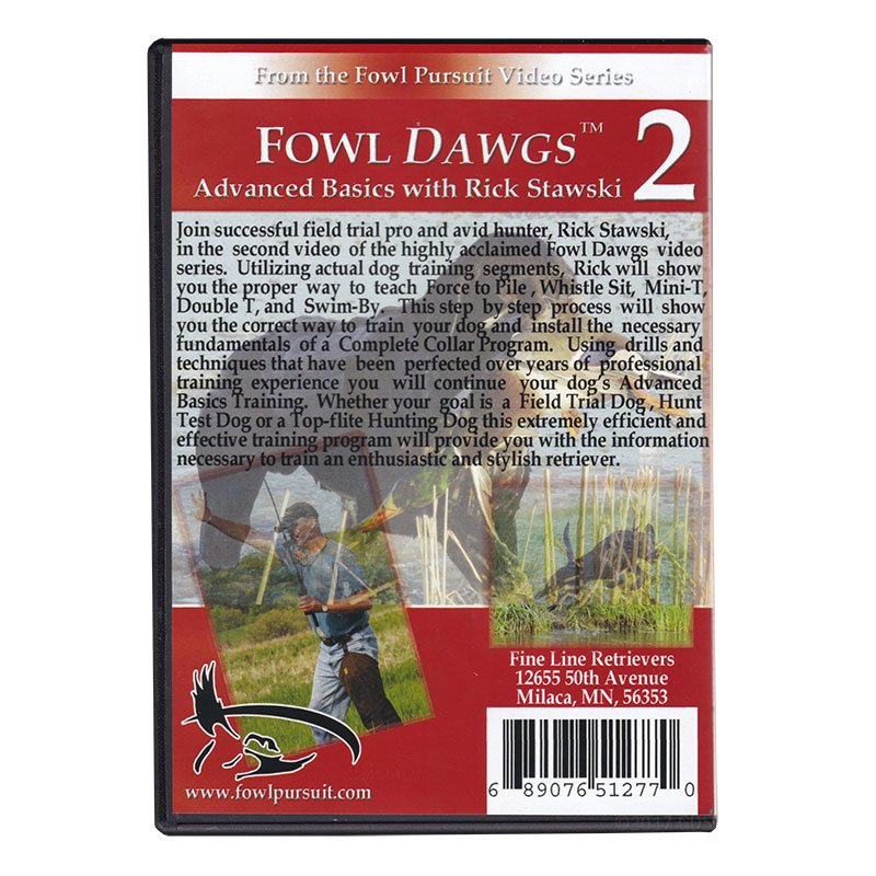 Fowl Dawgs Vol. 2 DVD back