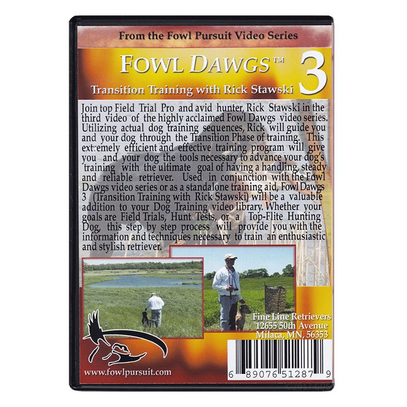 Fowl Dawgs Vol. 3 DVD back