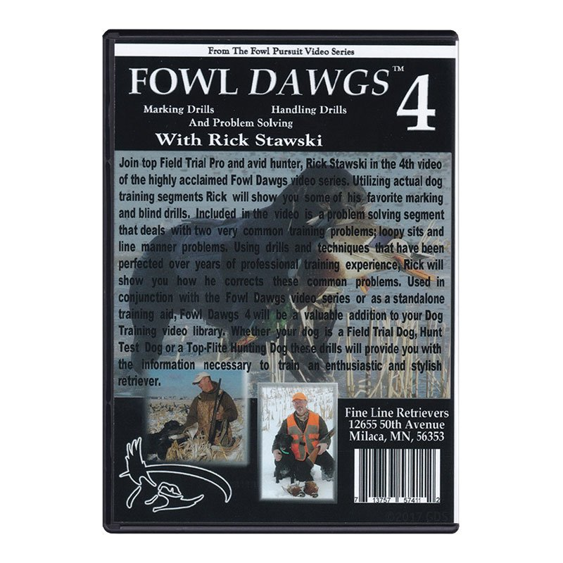 Fowl Dawgs Vol. 4 DVD back