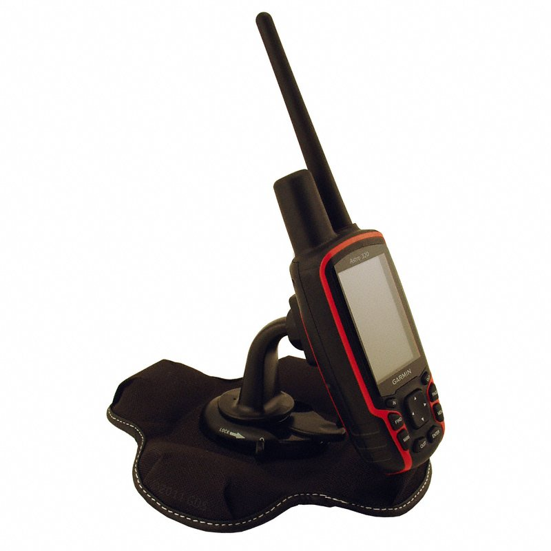 Friction Mount with Garmin Astro 320 Handheld (not included)