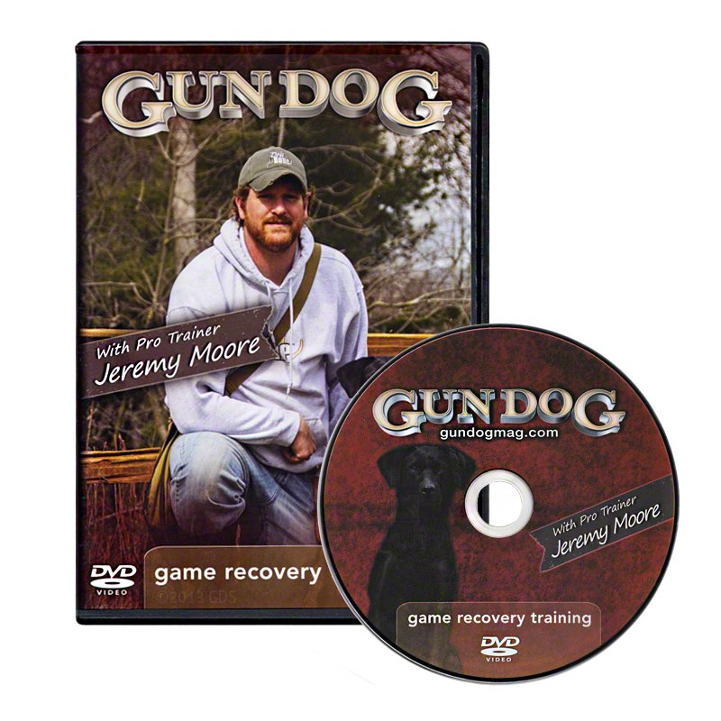 Game Recovery System Dog Training DVD