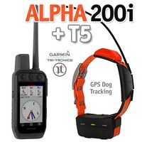 shop Garmin ALPHA 200i + T5 GPS Dog Tracking Collar Combo