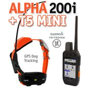 shop Garmin ALPHA 200i + T5 MINI GPS Dog Tracking Collar Combo