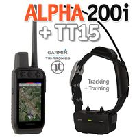 shop Garmin ALPHA 200i + TT15 GPS Dog Tracking E-Collar Combo