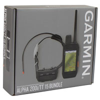 Garmin ALPHA 200i + TT15 GPS Dog Tracking E-Collar Combo