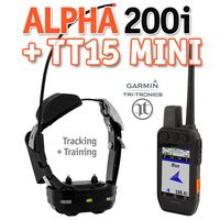 shop Garmin ALPHA 200i + TT15 MINI GPS Dog Tracking E-Collar Combo