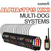 shop Garmin Alpha 100 + TT15 MINI Multi-Dog Systems